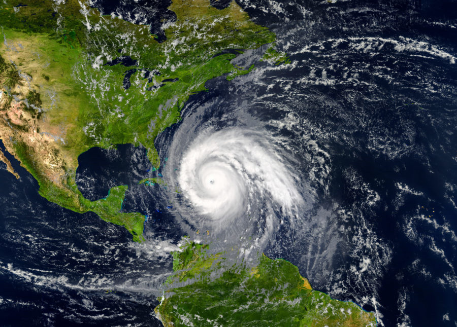 hurricane approaches miami and southern fla